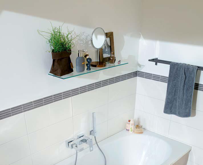 Der Lieblingsplatz der Bauherrin ist die neue Badewanne – kompakt in den Maßen, harmonisch geformt und dabei so gemütlich großzügig im Innenbereich.