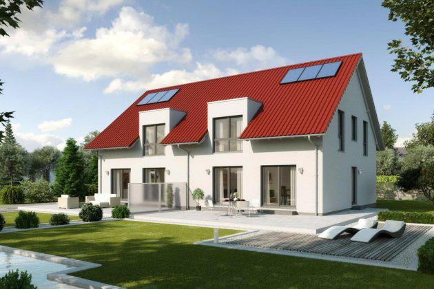 Das Doppelhaus Malmö.