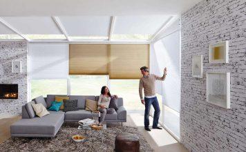 Einen zuverlässigen Licht-, Sicht- und Sonnenschutz bietet das Original Wabenplissee von Duette.