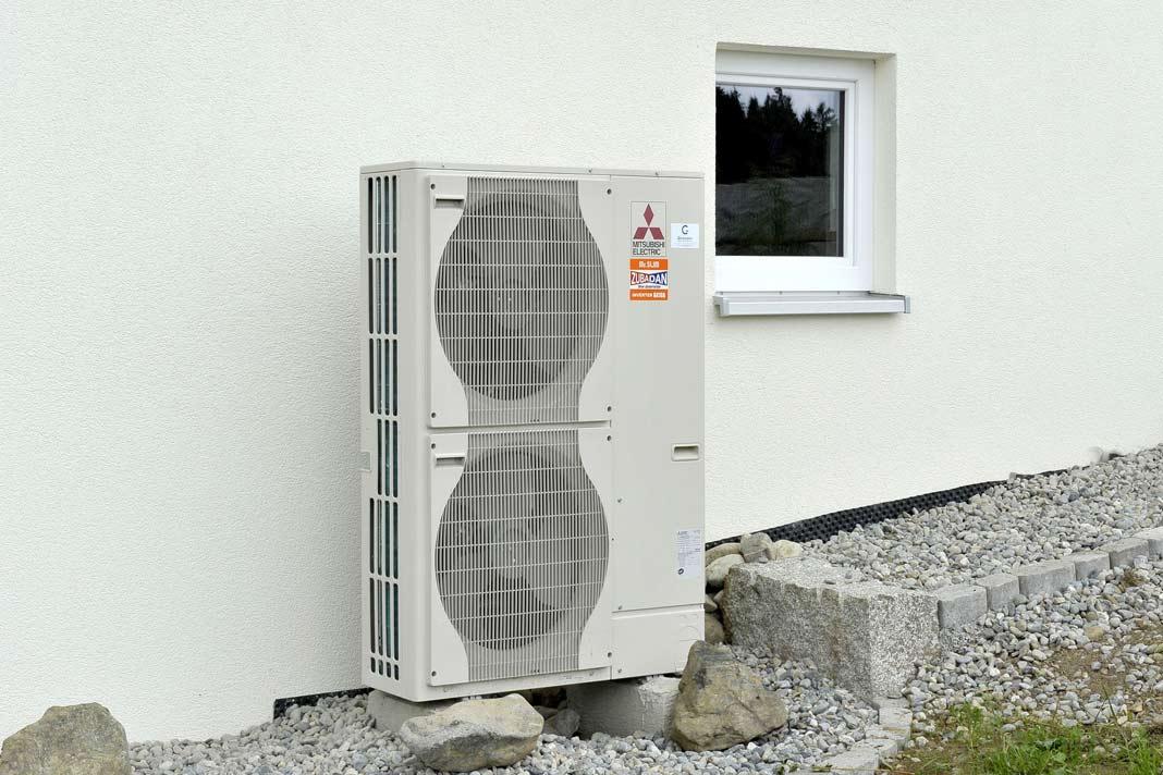 Luft/Wasser-Wärmepumpen sind effiziente, komfortable und umweltfreundliche Wärmeerzeuger.