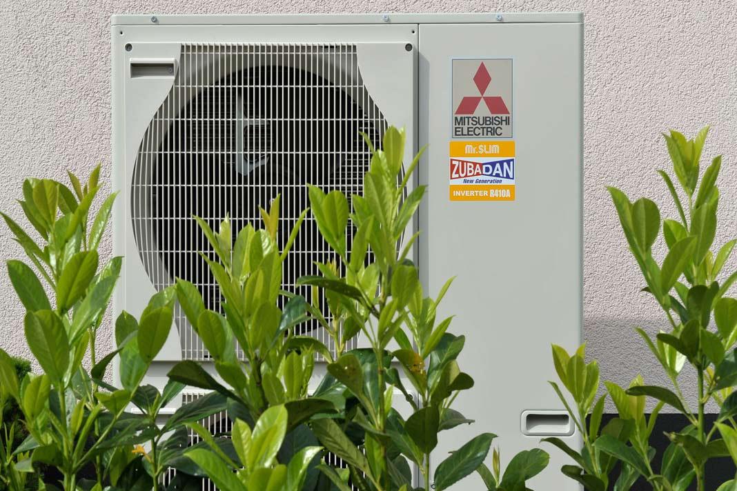 Das Ecodan System bringt auch bei tiefen Minustemperaturen noch die geforderte Heizleistung.