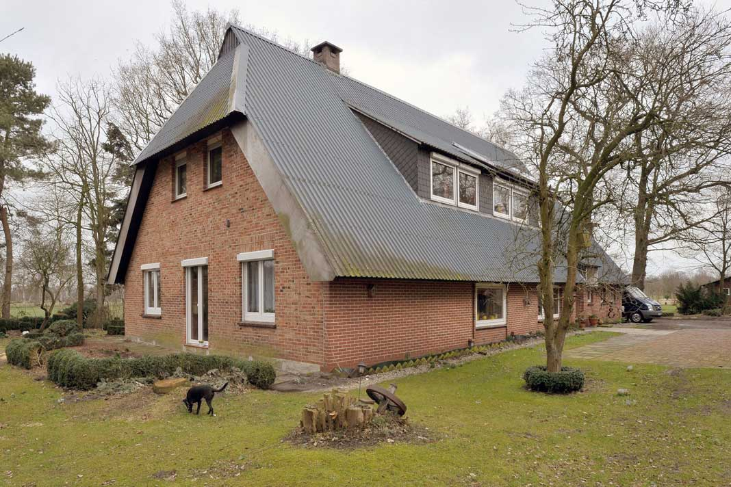 Luft/Wasser-Wärmepumpe arbeitet selbst in Bauten aus dem 19. Jahrhundert effizient.