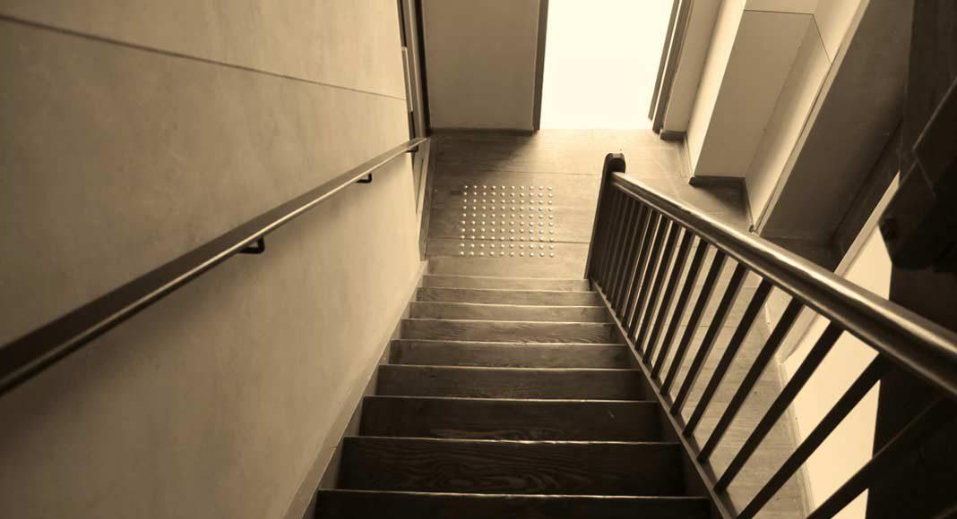 So gestalteten sich Diele und Treppenhaus früher.