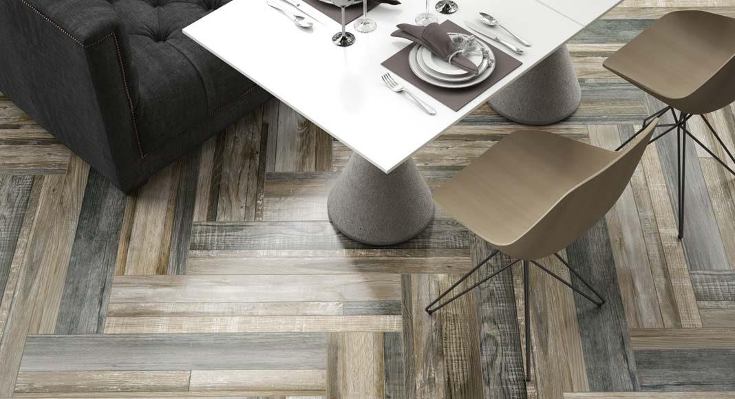 Holz- und Verlegeart bestimmen entscheidend das Aussehen des Bodens.