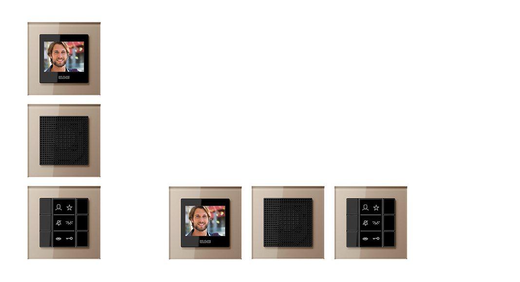 Gestaltungsfreiheit durch vertikale und horizontale Montage. Foto: Jung
