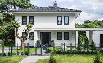 Schlüsselfertig angefertigtes Arge-Haus.