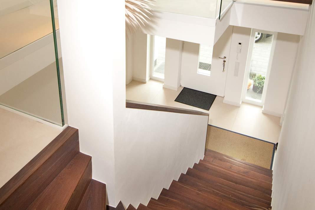 Die Treppe als Gestaltungselement.