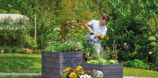 Ein Hochbeet schont den Rücken und bringt den Spaß an der Gartenarbeit zurück. Foto: Garantia