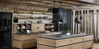 Eine Landhausküche in modernem Styling. Foto: EWE