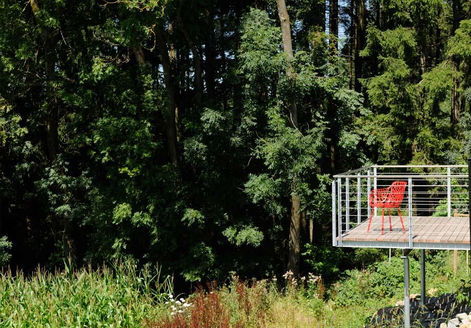 Probewohnen im ausgefallenen Holzhaus in Niederbayern
