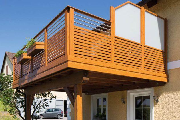 Wind- und Sichtschutz für Balkon und Terrasse muss wetterfest, pflegeleicht und robust sein.