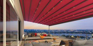 Wetterschutz Terrasse.