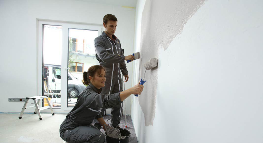 Beachtet man einige einfache Grundregeln, kann beim Malern nicht viel schief gehen.