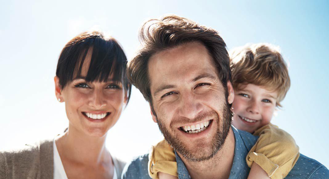 Für junge Familien ist ein Bungalow ein ideales Heim.