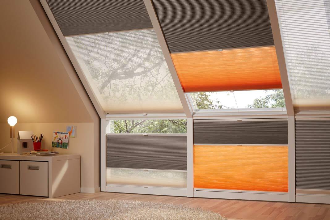 duette wabenplissee mit sonnenschutz energie sparen livvi de. Black Bedroom Furniture Sets. Home Design Ideas