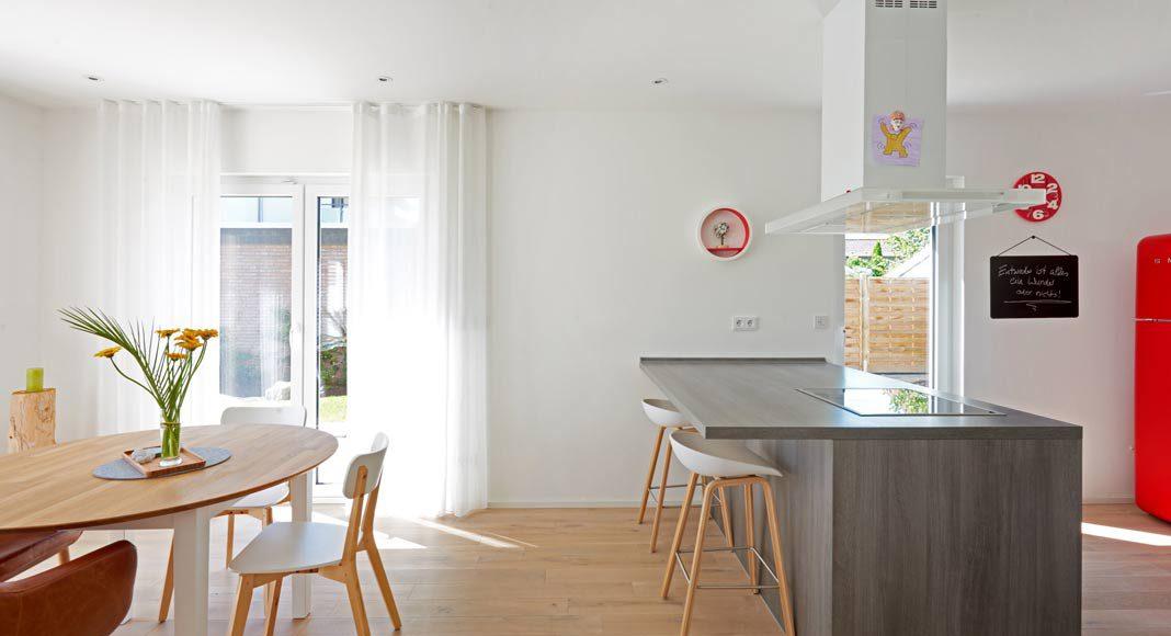 Küchen werden immer wohnlicher.