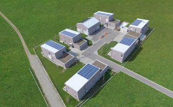 Das Architekturprojekt Marienhof in Leutkirch ist einer der Gewinner im Wettbewerb HolzbauPlus. Foto: Baufritz
