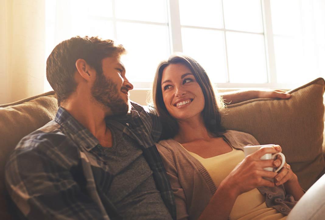 Mit der passenden Heizung findet man den richtigen Partner.