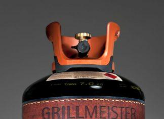 Gasflasche Grillmeister der Marke Westfalengas