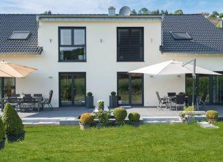 Doppelhaus bauen mit guter Laune.
