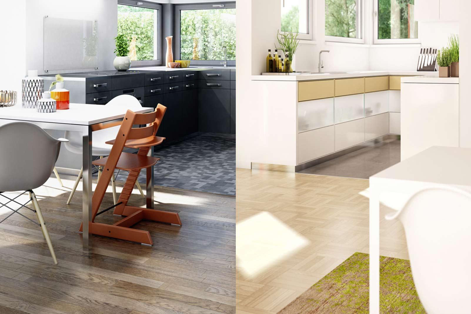 Frauenküchen sind anders. Männerküchen auch. » LIVVI.DE