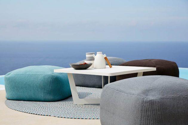 outdoor m bel verwandeln die terrasse in ein gem tliches wohnzimmer. Black Bedroom Furniture Sets. Home Design Ideas