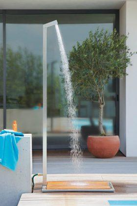 Eine erholsame Outdoor-Dusche im eigenen Garten