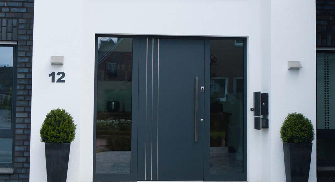 Hochwertige Haustüren aus Aluminium von heroal.