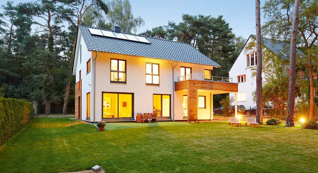 Das individuell geplante Kundenhaus Waldsee.