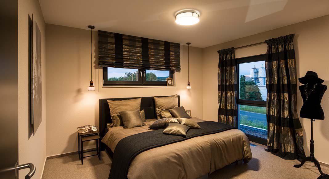 Das Schlafzimmer als ganz privater Rückzugsraum.