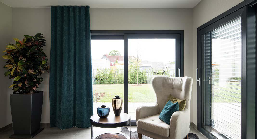 Ob Einliegerwohnung oder separates Home-Office – das angebaute Modul bietet alle Möglichkeiten.