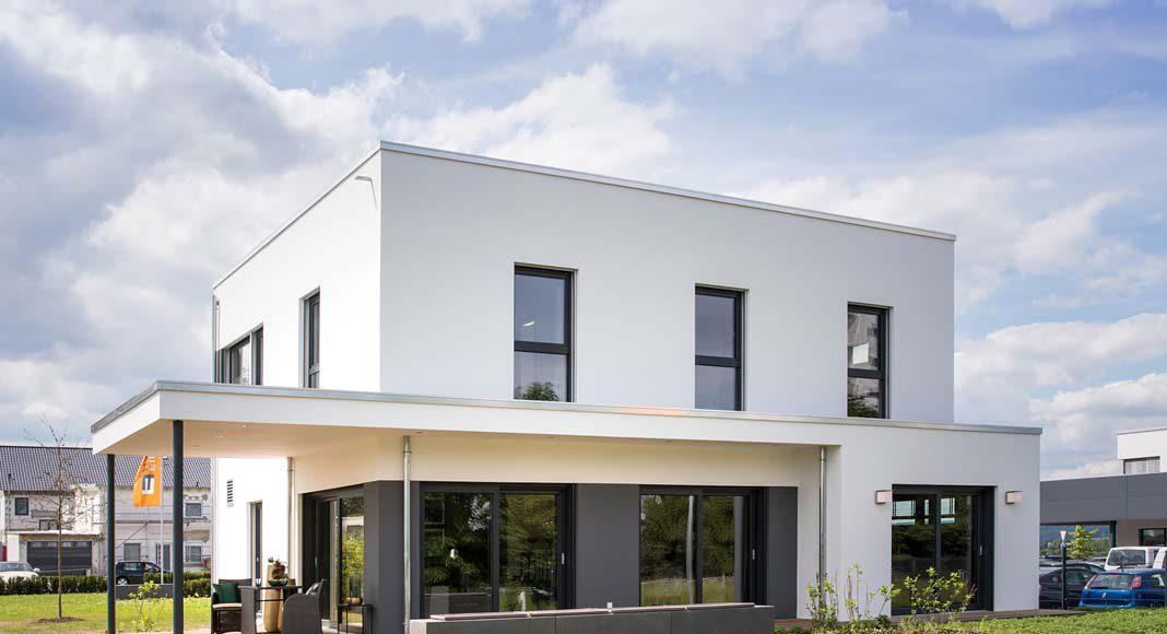 Immer mehr Bauherren wünschen sich ein Flachdach.