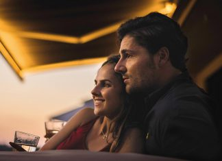 Terrasse mit dem partner als Wohlfühlort