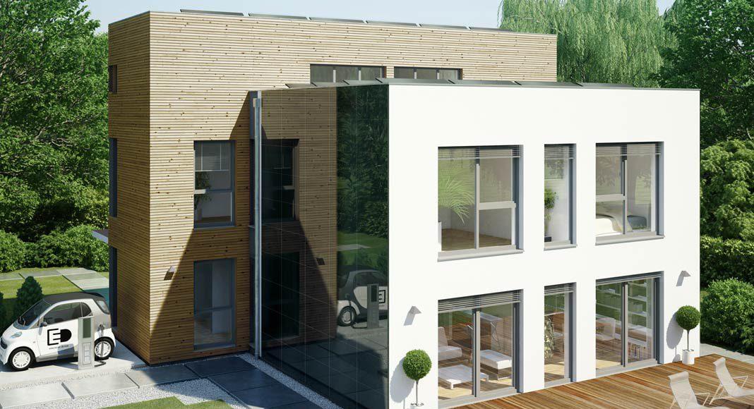 Jedes Haus lässt sich heutzutage mit einer leistungsfähigen Photovoltaikanlage ausrüsten.