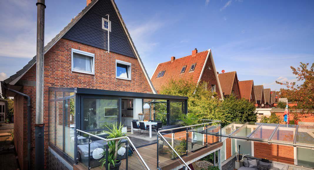 Wintergärten eignen sich optimal, um Ihr Haus zu modernisieren.