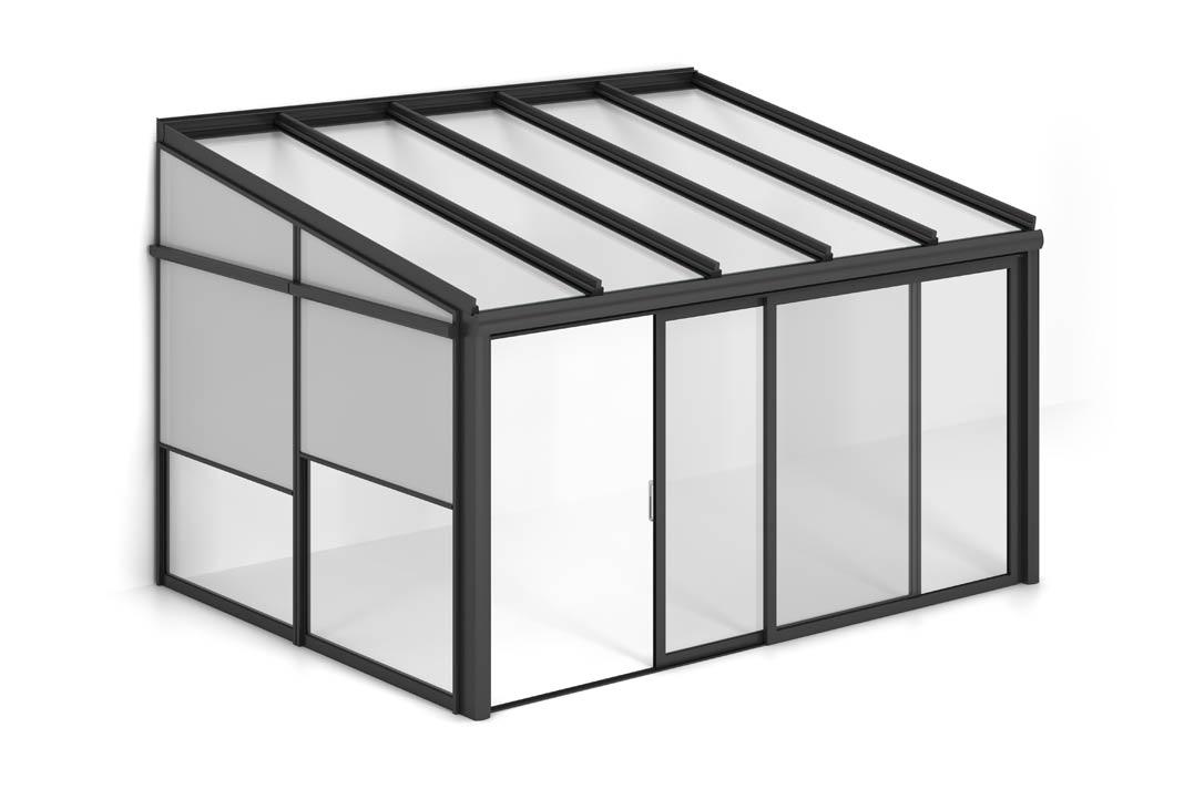 Überdachungen von heroal bieten unzählige Gestaltungsmöglichkeit.