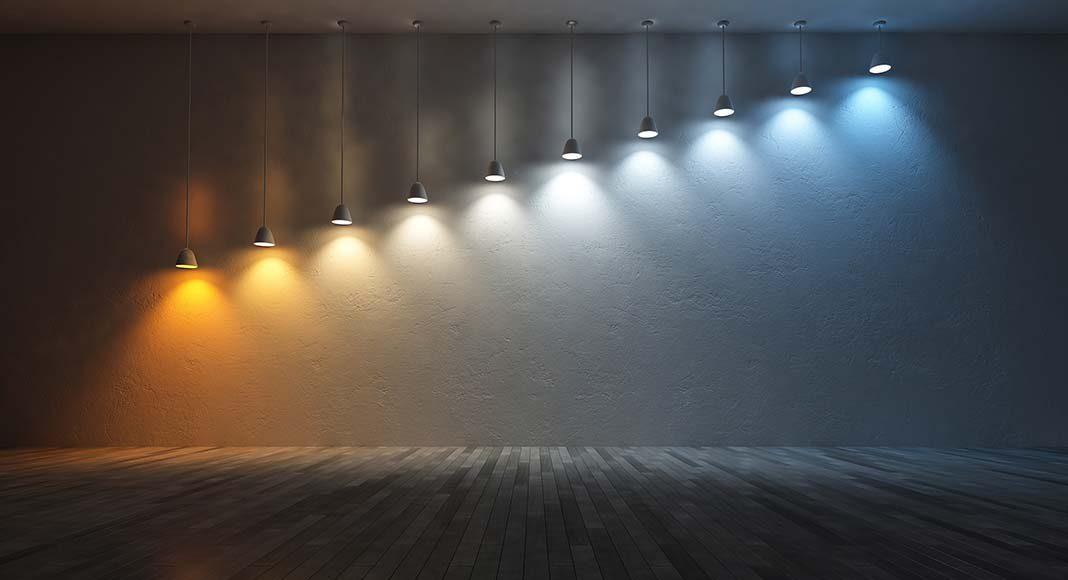 Stimmung anheben mit dem Licht.
