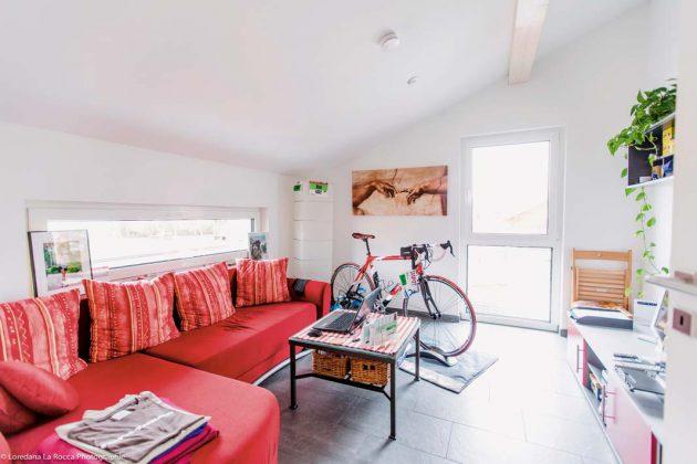 Ein attraktiver Rückzugsbereich für die Jugend im Dachgeschoss.