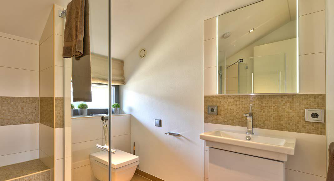 Ein Dusch-WC.