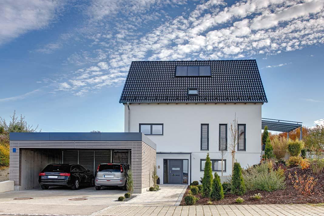 Musterhaus von Sonnleitner.