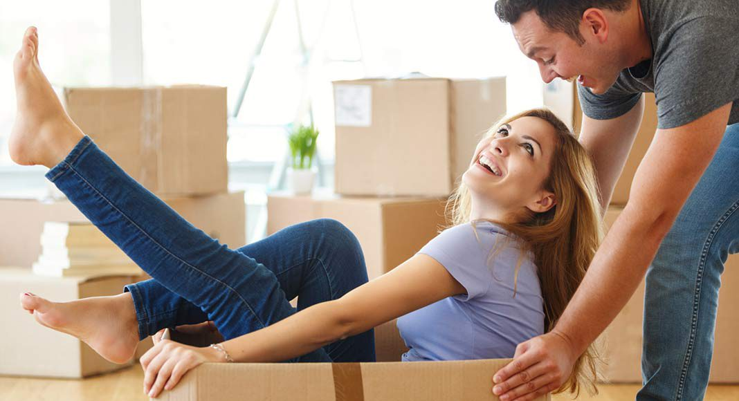 Mit einem Fertighaus kann die Baufamilie schneller in ihr Traumhaus einziehen.
