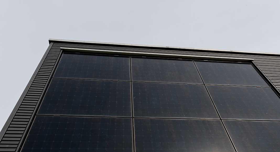 Photovoltaikanlage des Hauses.