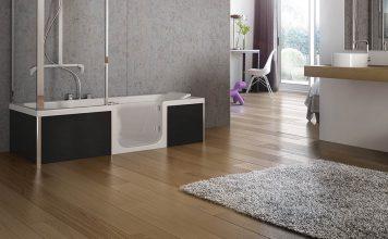 Dusch-Badewanne von Sanibroy.
