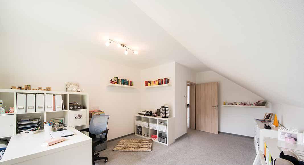 Die meisten Bauherren wünschen sich ein separates Arbeitszimmer.
