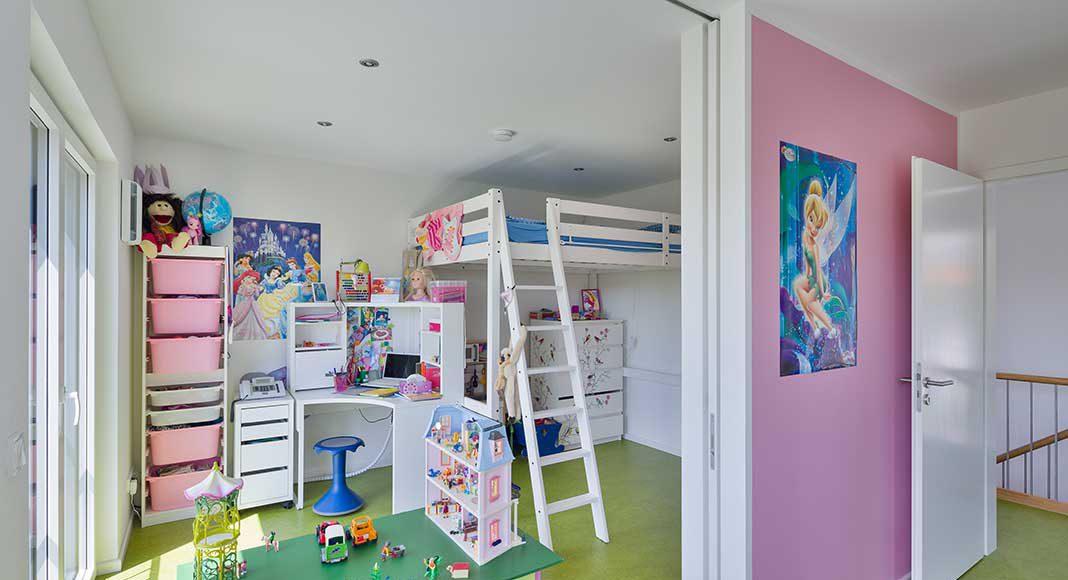 Das Kinderzimmer der Tochter.