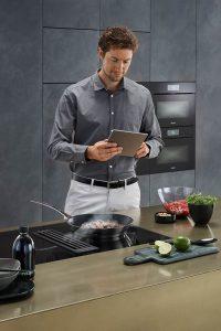 Intelligente Küchentechnik.
