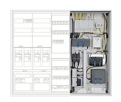 Router, Server und Co sind das Herzstück eines Multimedia Systems