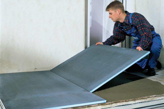 Bauplatte als ideales Trägerelement für die Verfliesung