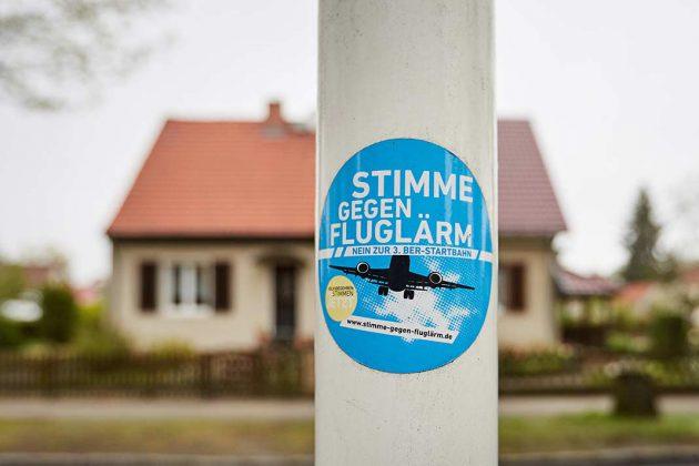 Stimme gegen Fluglärm