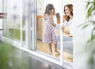 Das Pollenschutzgitter für jede Tür/Fenster.